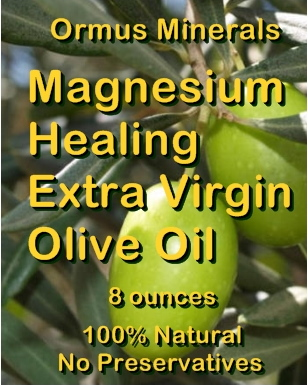 Ormus Minerals -Magnesium Healing Extra Virgin Oilive Oil