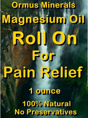 Ormus Minerals -Magnesium RollOn for Pain Relief